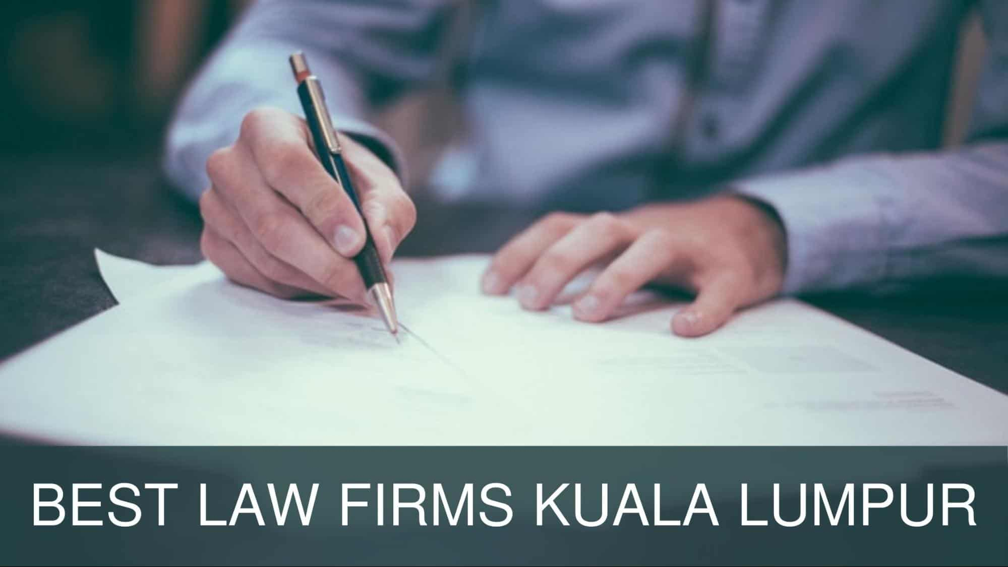 Best Law Firm in KL