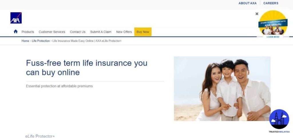 eLife Protector+'s Homepage
